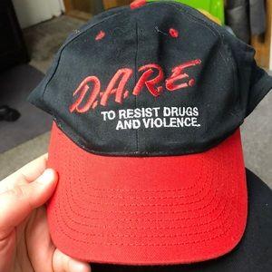 D.A.R.E ball cap